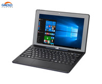 Wholesale tablet atom dual for sale - 10 quot mini convertible laptop IPS screen Atom quad core X5 Z8350 dual camera in tablet PC windows notebook