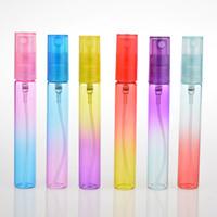 ingrosso bottiglie a spruzzo al dettaglio-Flaconi spray da 8 ml Bottiglia di profumo portatile con gradiente di rampa con atomizzatore Contenitori cosmetici vuoti per viaggi con regalo al dettaglio Bo
