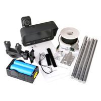 hd камера высокого разрешения оптовых-Dual Lens 20m Professional Fish Finder DVR Video Record Camera High-definition