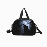 920cd446abca Custom men s and women s canvas sports fitness bag large-capacity waterproof  printing multi-function star leisure 43cm 30cm 23cm