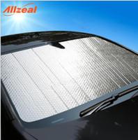 escudos de bolha venda por atacado-Automóvel protetor solar engrenagem dianteira, carro folha de alumínio SUV carro verão sol bolha placa de isolamento otário, protetor solar.