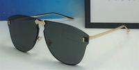 Wholesale pink carbon fiber online - Luxury S Sunglasses For Women Design Fashion Sunglasses Wrap Sunglass Frameless Coating Mirror Lens Carbon Fiber Legs Summer Style