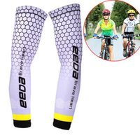 bike football Canada - Cycling Running Volleyball Uv Sun Protection Protective Arm Sleeve Bike Sport Arm Warmers Cover Football Basketball Sleeves