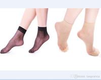 ver a través de los calcetines al por mayor-Las mujeres calcetines baratos calcetines verano ver a través de malla transparente Corto Calcetín Niñas Mujeres Skateboard envío libre al por mayor