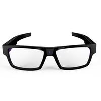 ingrosso occhiali da bottone-Mini videocamere GANSS Smart Glasses No Buttons Videoregistratore DV portatile per sport DV 1080p Vidicon 16G con microfono