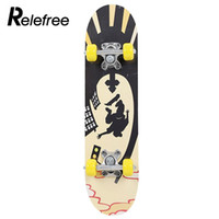 Wholesale skateboard decks for sale - Deck Skateboard Complete Skateboard Skate Board Popular Maple Wood Pulley Wheel Longboard Extreme Sports