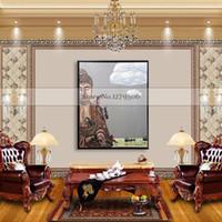 pinturas abstractas de buda al por mayor-decoración de la pared Pintura de la lona moderna pintura al óleo sobre lienzo abstracto Cuardros decoracion Buda arte pop pintura moderna barata