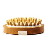 ingrosso bambù spa-Body Massage Bamboo No Handle SPA Massaggiatore Relax Anti Cellulite Assistenza sanitaria Stampa personalizzata logo