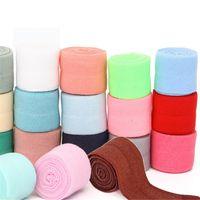 bande de spandex achat en gros de-1mter Nylon Spandex Sangle Ruban Binding Tapes Tissu À Coudre À Bandes Élastiques 2cm