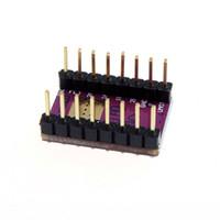 arduino yazıcı toptan satış-3D Yazıcı 3D yazıcı aksesuarları parçaları DRV8825 Arduino ile Uyumlu Step Motor Sürücüleri Modülü, Ahududu Pi