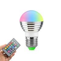ingrosso lampadine di natale bianche-bulbi rgbw (RGB + bianco) e27 E26 E14 LED 5W rgb LED per illuminazione di natale + ir contorl remoto
