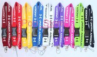 Wholesale cameras for free for sale - Free DHL Hot U A Fashion Clothing Lanyard Detachable Under Keychain iPod Camera Strap Badge Cell colors can pick