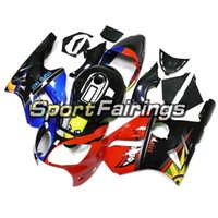 Wholesale zx12r red fairing resale online - Shark Red Blue Fluorescent ZX R Motorcycle Full ABS Fairings For ZX R Year Body Kit ABS Plastics Cowlings New