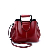 cuero rojo hobo bolsos al por mayor-Cuero genuino Bolsos de Lujo Bolsos de Mujer Diseñador Pequeño Hobos Bolsas Tote Bag Exquisito Bolso de Hombro Multicolor Diseño Rojo