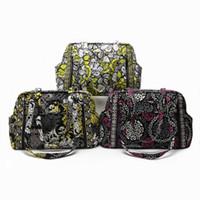 Wholesale light diaper bag resale online - VB baby diaper bag Flower Shoulder Bag Purse Handbag Tote bag