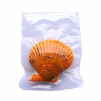coquille d'huître arc-en-ciel achat en gros de-27 Mélange de couleurs arc-en-ronde 7-8mm coquille rouge Akoya Saltwater vide perlière Emballage cadeau expédition bricolage bithday libre de haute qualité
