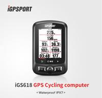 Wholesale navigation tracker - Color Screen Cycle computer gps iGS618 iGPSPORT gps tracker bike navigation Speedometer IPX7 3000 hours data storage