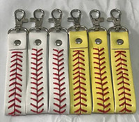Wholesale Cheap Wholesale Charms - Bracelet 2018 new factory cheap baseball keychain fastpitch softball accessories softball baseball keychain,fastpitch softball accessories