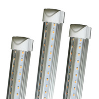 Discount t8 led tube daylight - 8 FOOT LED Lights 8ft led tube light V-Shape T8 Integration high brightness 2ft 3ft 4ft 5ft 6ft 52W 56W 8ft daylight 4000-4500K