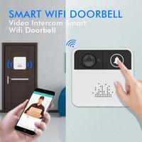 Wholesale home alarm camera door for sale - WiFi Video Doorbell HD P Wireless Mini Smart Camera Door Bell Ring Alarm Home Phone Intercom APP Control iOS Android