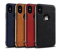 Wholesale note8 cases for sale – best For iPhone X sSamsung Note8 S9 S8 S7S6 New Business Leather Pattern Stitching Phone Case TPU Soft Shell Full Protection Anti drop Case