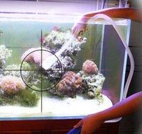 pompe à eau propre achat en gros de-Aquarium Clean Vide Eau Changement Gravier Nettoyant Fish Tank Siphon Pompe