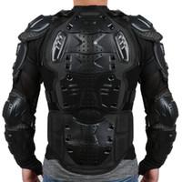 ingrosso giacche da corazza-Giubbotto antipioggia da motociclista completo di giubbotto antipioggia da motociclista con protezioni laterali S-XXXL Nero Rosso spedizione gratuita