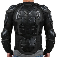 Wholesale gear body armor online - Liplasting Motorcycle Full Body Armor Shirt Jacket Back Shoulder Protect Gear S XXXL Black Red