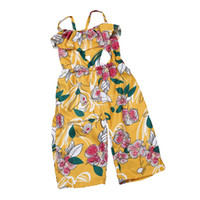 Wholesale fasion clothes - 2-7Year One-pieces Hot Summer Kid Baby Girls Floral Jumpsuit Sleeveless Bodysuit Children Clothes Wear Fasion Outfits Clothing