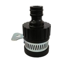 klopfen großhandel-Durable Universal Outdoor Gardening Wasserhahn Schlauchanschluss Adapter Adapter Geeignet für 16 - 22mm Durchmesser Tap