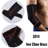 Wholesale football arm pads - Arm Sleeve Sports Elbow Pads Basketball Football Tennis Elbow Protection Elbow Support Support FBA Drop Shipping G444S