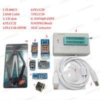 programador para eeprom al por mayor-V6.6 100% Original Nuevo MiniPro TL866CS Programador +7 Adaptadores Socket High Speed USB EPROM EEPROM FLASH Alto rendimiento para 1300