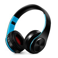 Wholesale wireless tablet headphones resale online - V4 Bluetooth Headphones Wireless Foldable Stereo Headphone voice control headset for Smart Phones Tablets