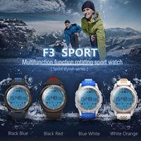 beste wasserdichte fitness-uhren großhandel-Beste Qualität F3 Smart Watch Armband IP68 wasserdichte Smartwatches Outdoor-Modus Fitness Sports Tracker Reminder Wearable Devices