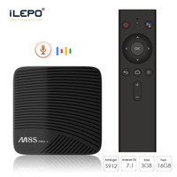 Wholesale best amlogic android tv box for sale - Best Streaming Box Voice control Amlogic S912 Octa Smart TV Box dual band G G WiFi BT4 OTA update GB GB Best Android TV Box