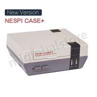 neue himbeere großhandel-NEUE VERSION Retrospag Nespi Case + Plus Funktionale POWER-Taste mit Safe Shutdown für Raspberry Pi 3 B + (B Plus)