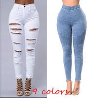 fe353de124d 2018 Femmes Skinny Jeans Push Up Taille Haute Pantalon Dames Casual Slim  Fit Long Pantalon Femme Pantalon Livraison Gratuite