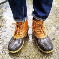 c57fd459 Женщины утка сапоги искусственная кожа водонепроницаемый снег обувь  скольжения на Cross-tied зимние лодыжки Женские сапоги дождь