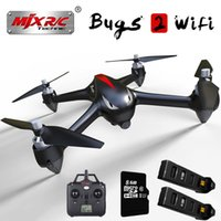 Wholesale wifi camera toy resale online - MJX B2W Bugs P HD Camera gps Brushless RC Quadcopter Drone With G wifi Fpv Altitude Hold Headless RC Aircraft Toys