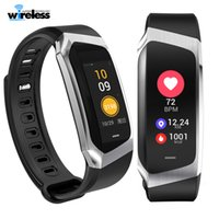 Wholesale calories watch heart rate - e18 waterproof Bluetooth Smart Watch Support Heart rate Calorie expenditure blood pressure with camera For smarphones