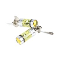 Wholesale Cheap Yellow Lamps - Cheap lamp h3 2PCs Set Durable Daytime Running Light DRL H3 Fog Bulbs High Power 100W Yellow 4300K Replacement Car Lamps
