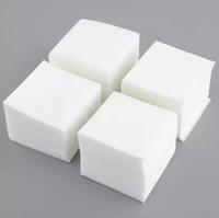 para toallitas al por mayor-Comercio al por mayor Nuevo Caliente 900 Unids Manicura Nail Art Removedor de Esmalte Sin Pelusa Limpiador Limpiar Papel de Almohadillas de Algodón