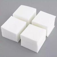 maniküre-pad großhandel-Großhandel neue heiße 900pcs Maniküre Nail Art Nagellackentferner fusselfreien Reiniger wischen Wattepads Papier