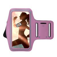 переносная консоль оптовых-Мобильный Телефон ARM Band Case Для Huawei Ascend P10 Lite Крышка Регулируемый Тренажерный Зал Работает Спорт Arm Band Case