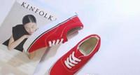 zapatos de lona de negocios informal al por mayor-Size35-45 Unisex Adulto Moda Mujeres Hombres Unisex Zapatos de Lona calzado zapatillas de deporte unisex Zapatos casuales zapatos casuales de negocios