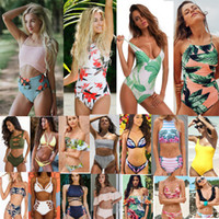 Wholesale Two Pieces Swimsuits - 267 styles new arrivals Swimwear bikini sexy two pieces Triangle bikini Swimsuit lady sexy Swimsuit Padded bra Bikini free ship