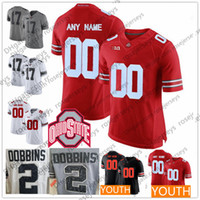 Customized Mens Youth Ohio State Buckeyes College Football white red black  Personalized Kids Sewn Any Name Number Joey Bosa Martell Jerseys 43b9346ba