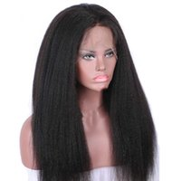 kurze kastanienbraune haarfarbe groihandel-ZF Afro Lace Front Perücke Curly Lace Perücken 26Zoll Schwarz wild-curl up oder Black Women Fashion Normal Style