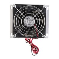 Wholesale Peltier Thermoelectric Cooling - Wholesale-Hot 60W Thermoelectric Peltier Cooler Refrigeration Semiconductor Cooling System Kit Cooler Fan Finished Kit Computer Components