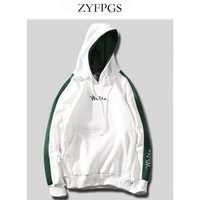 толстовки с длинным рукавом оптовых-ZYFPGS Sexy Hooded Autumn Sweatshirt Hoodies Men 2018  Male Long Sleeve Solid Casual Trend Harajuku Streetwear 86